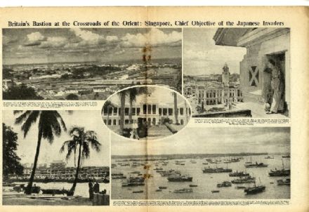 1941 WW2 Magazine SINGAPORE USA State of War Pearl Harbor Attacked GUAM (6110)